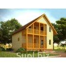 Строительство коттеджей, домов, дач, бань под ключ из профилированного бруса