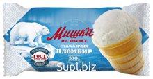Мороженое Стакан МИШКА Пломбир